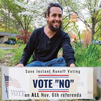 Carlos Ochoa, Save Instant Runoff Voting