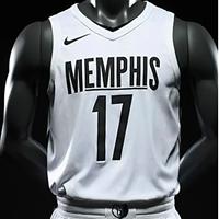 A recent Grizzlies MLK Day uniform