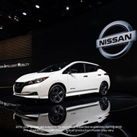 The 2019 Nissan Leaf.