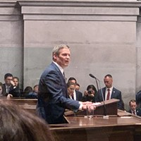 Governor Bill Lee, giving the State of the State Address
