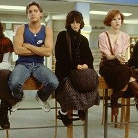 The gang's all here for The Breakfast Club at the Time Warp Drive-In