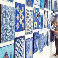 The radical quilt work of Paula Kovarik.