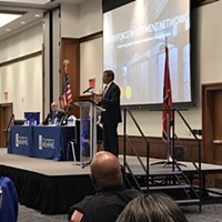 Gov. Bill Lee speaks about helping ex-offenders find employment.