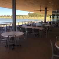 Coastal Fish Company patio at Shelby Farms