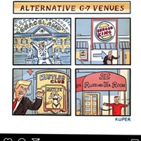 "MEMernet: Graceland G-7, Titanic Potholes, and ""Dis Tornado"""