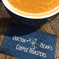Dr. Bean's Coffee at Puck Food Hall