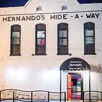 """It's called Hernando's Hide-A-Way."""