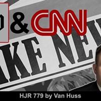 "TN Lawmaker Wants CNN, WaPo Labelled as ""Fake News"""