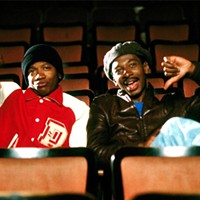 Robert Townsend (right) and Jimmy Woodard (left) in Hollywood Shuffle