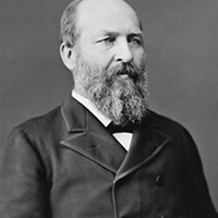 President James Abram Garfield