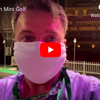 VIDEO: Mini-Golfing on the Orpheum Stage