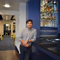 SOB owner Ed Cabigao at the new East Memphis location.