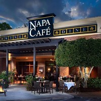 Napa Café before outdoor seating was expanded.