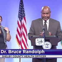 Shelby County Health Department (SCHD) Officer Dr. Bruce Randolph