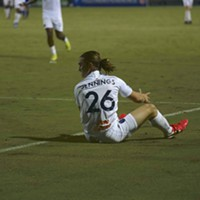 Cal Jennings proved too much for the Charlotte defense to handle during 901 FC's 3-1 win.