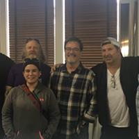The team behind The Paramount: Jordan Beatty, Brent McAfee, Lee Anna Beatty Derk Meitzler,  Spencer McMillin, and Mac Edwards.