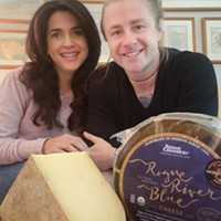 Jackie Mau and Kurt Mullican of Greys Fine Cheese & Entertaining
