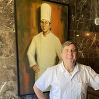 Alex Grisanti at his new Elfo Grisanti's Northern Italian Cuisine