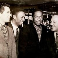Dave Gonsalves , Herman Green, John Coltrane, and Arthur Hoyle