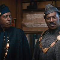 Arsenio Hall and Eddie Murphy reprise their roles as Semmi and Prince Akeem in Coming 2 America.