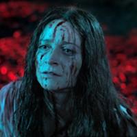 Niamh Algar as Enid in Censor.