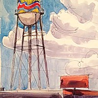 New design plans for Broad Avenue water tower