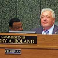 Shelby County Commission Chairman Terry Roland