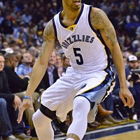 "Courtney Lee was the Grizzlies starting ""point guard"" against OKC."