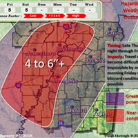 Winter Storm Heads for Memphis