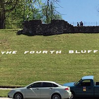The project involved  re-branding Memphis Park as the Fourth Bluff.