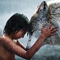 Wolf boy — Neel Sethi as Mowgli.