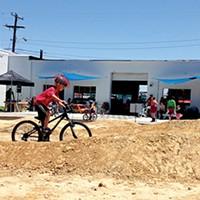 Bikesmith's pump track opened last weekend.