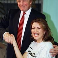 Donald Trump and Alicia Machado in 1997