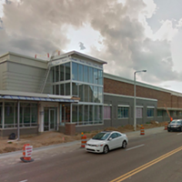 This Google Maps Street View photo shows the new store under construction in August.