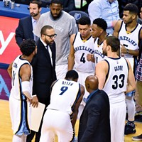 The Grizzlies had their hands full last night because of all the injuries they've suffered.