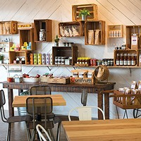 Now open: City Silo and Pantry and The Bluff