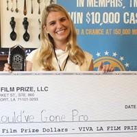 McGhee Montieth, winner of the 2016 Memphis Film Prize