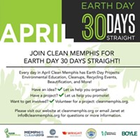 April Marks 30 Days of Spring Cleaning in Memphis