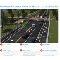 Riverside Drive to Potentially be Repaved, Bike Lanes
