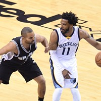 Mike Conley asserted his dominance last night.