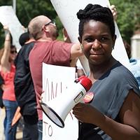 Organizer Jayanni Webster