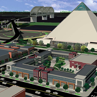 An image from the Pinch District Concept Plan