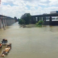 VIDEO: Mississippi River Rises