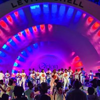 Stax Music Academy students at the Levitt Shell, 2015