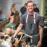Chef Cole Jeanes on growing up and the power of wood fires