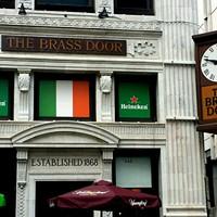 Majestic Folks Taking Over Brass Door