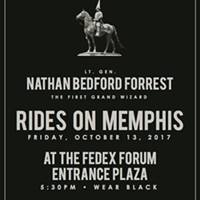 'Wear Black:' Group Plans FedEx Forum Gathering After Forrest Statue Vote