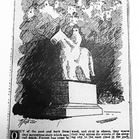 At Friday's meeting, Mayor Strickland referenced this article from the Memphis News-Scimitar that was published when the Forrest statue was erected in 1905.