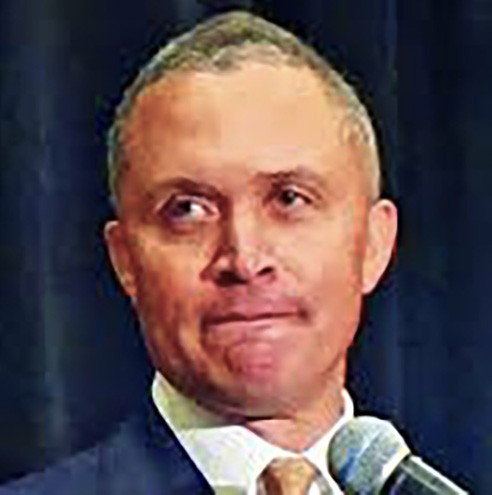 Harold Ford Jr. in Memphis at an NAACP event earlier this year- JB