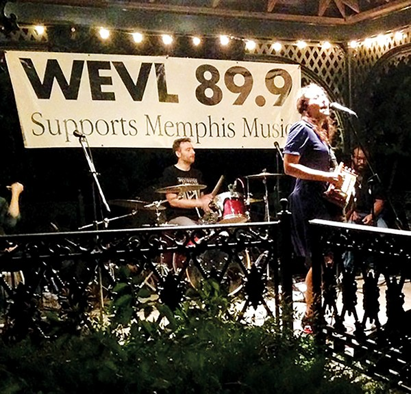 Marcella & Her Lovers play Blues on the Bluff - WEVL/FACEBOOK/PAUL STACKPOLE